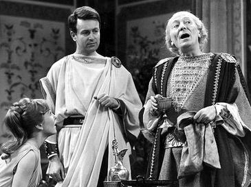 The First Doctor (William Hartnell) in Doctor Who: The Romans