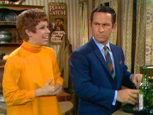 "The Carol Burnett Show, season 1, episode 11 - Carol Burnett and Don Adams in ""The Lost Purse"""