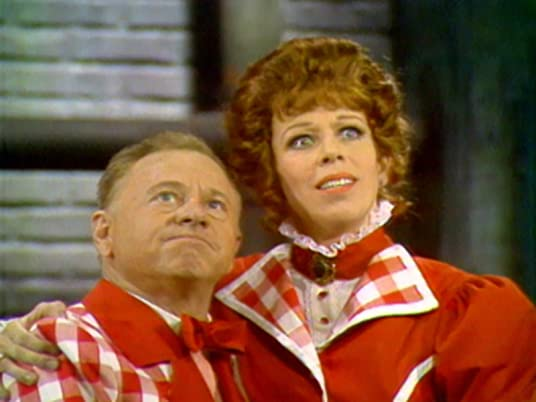 "The Carol Burnett Show, season 1, episode 14 - Mickey Rooney and Carol Burnett in ""The Four Funns of Broadway"""
