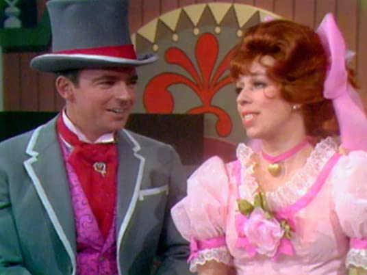 The Carol Burnett Show, season 1, episode 18 - Ken Berry and Carol Burnett in a parody of Show Boat