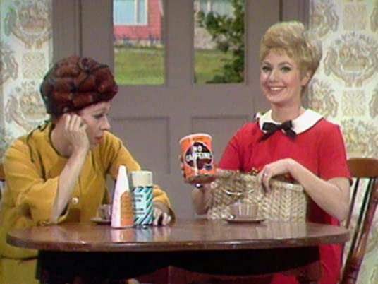 The Carol Burnett Show season 1, episode 19 - Carol Burnett and Shirley Jones doing a commercial parody