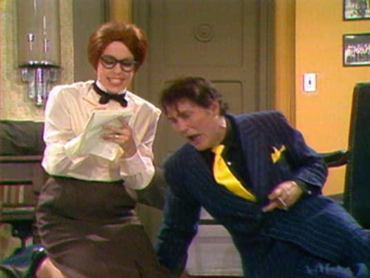 The Carol Burnett Show, season 1, episode 21, with Carol Burnett and Jack Balance in a gangster sketch