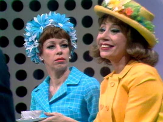 The Carol Burnett Show, season 1, episode 25 - Carol Burnett and Imogene Coca