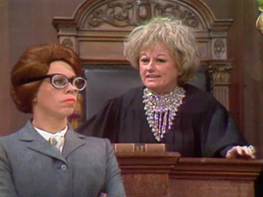 The Carol Burnett Show season 1, episode 6 - Carol Burnett and Judge Phyllis Diller