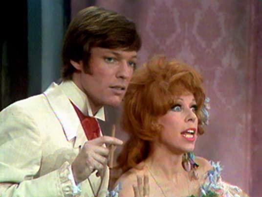 "The Carol Burnett Show, season 1, episode 9 - Richard Chamberlain and Carol Burnett in ""Gone with the Breeze"""