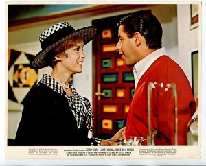"""Three on a Couch 8""""x10"""" Color Promotional Still Jerry Lewis Janet Leigh"""