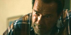"""Arnold Swarzenegger as the loving, helpless father in """"Maggie"""""""