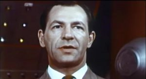 "Robert Hutton as Dr. Curtis Temple.  The protagonist in ""They Came from Beyond Space"""