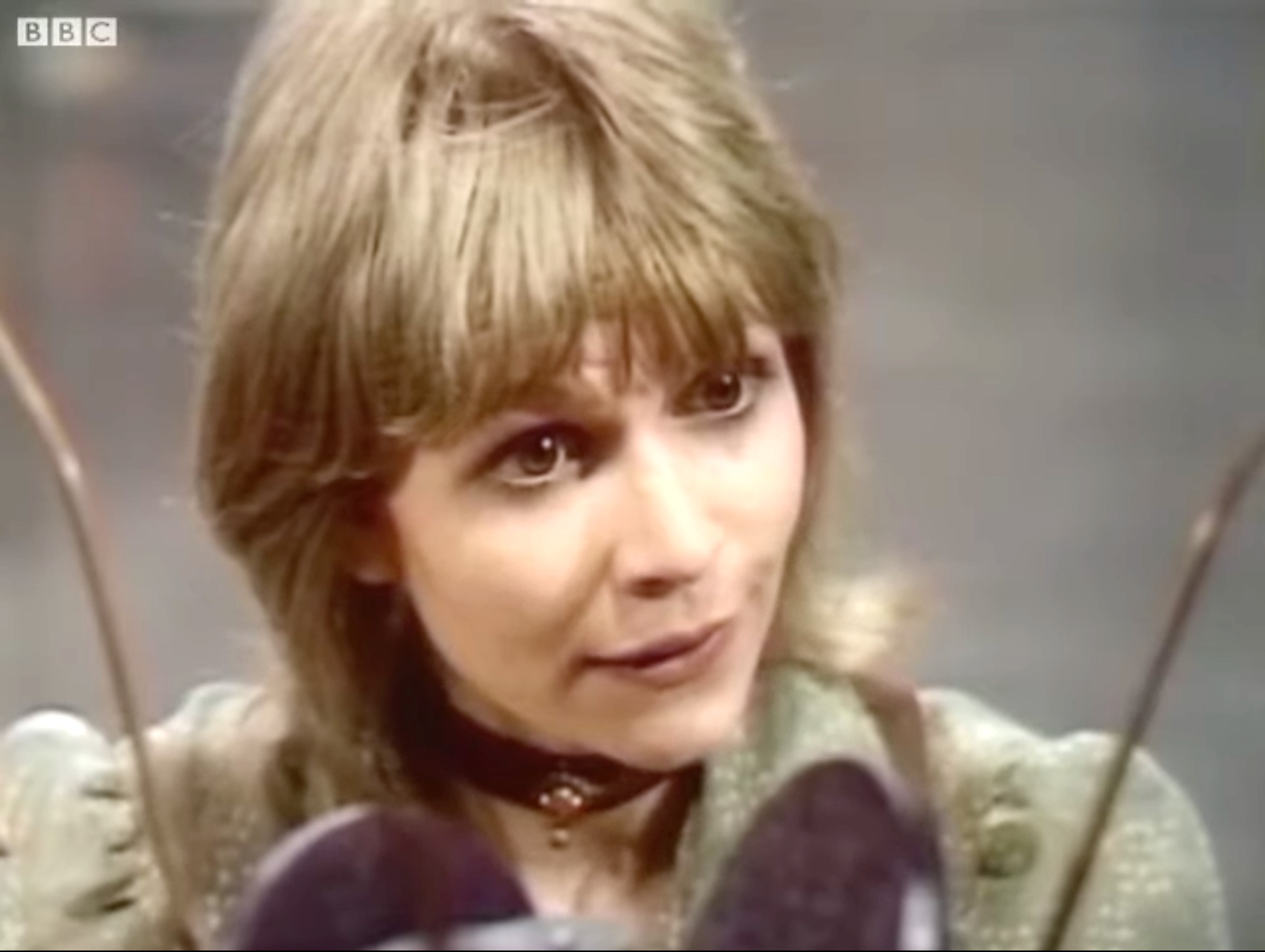 Katy Manning as Jo Grant in The Terror of the Autons