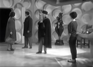 """The TARDIS is larger on the inside … said for the first time in """"The Unearthly Child"""""""