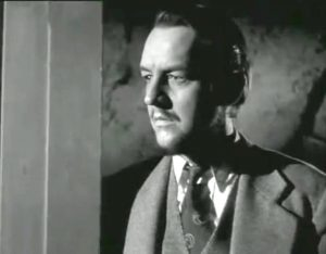"""William Schallert as Dr. Mears in """"The Man from Planet X"""""""