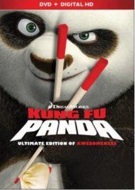 Kung Fu Panda (2008) starring Jack Black, Dustin Hoffman, Angelina Jolie