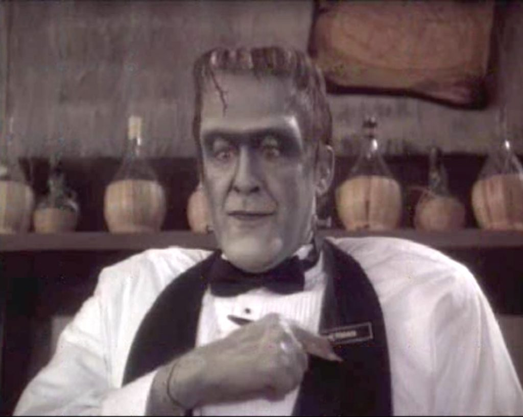 """Edward Hermann as Herman Munster in """"Here Come the Munsters"""""""