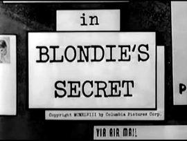Blondie's Secret (1948) starring Penny Singleton, Arthur Lake