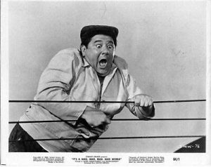 Phil Silvers and Jonathan Winters in It's a Mad Mad Mad Mad World