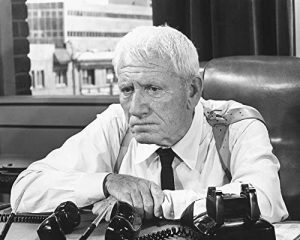 """Spencer Tracy as the suspicious cop in """"It's a Mad Mad Mad Mad World"""""""