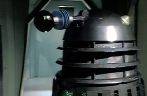 """One of the many Daleks in """"Planet of the Daleks"""""""